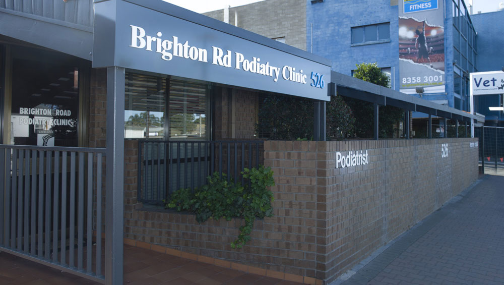 brighton road podiatry clinic Adelaide